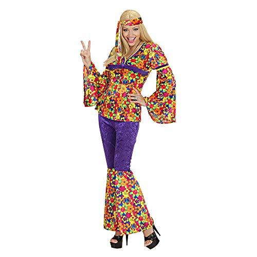 Widmann - Cs927329/xl - Costume Hippie Femme Velours Xl
