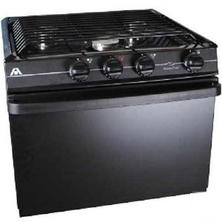 Wedgewood Range 3 Burner17 Inch Oven with Piezo Black