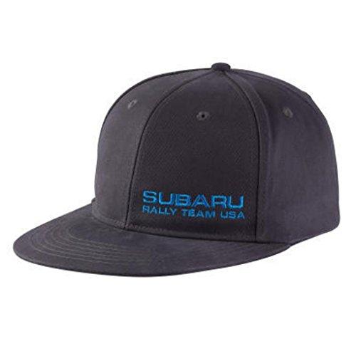 Subaru Genuine Rally Team USA Racing Flat Bill Flat Visor Flatbill Baseball Cap Hat