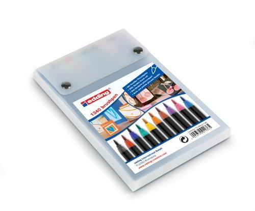 edding 1340 Brush Pen - Fasermaler mit variabler Spitze Set