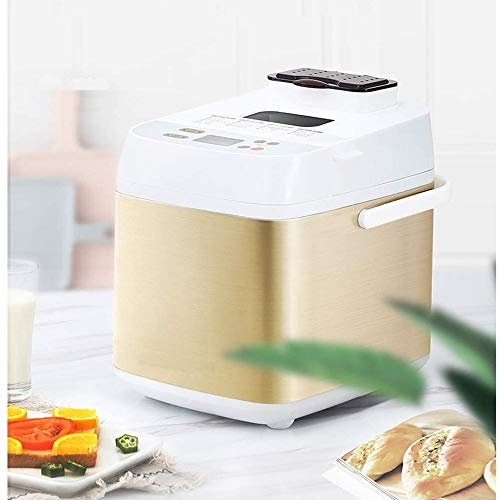 Review Of Bread Machine Home Automatic, Breadmaker Intelligent Breakfast Sandwich Toast Maker Cake M...
