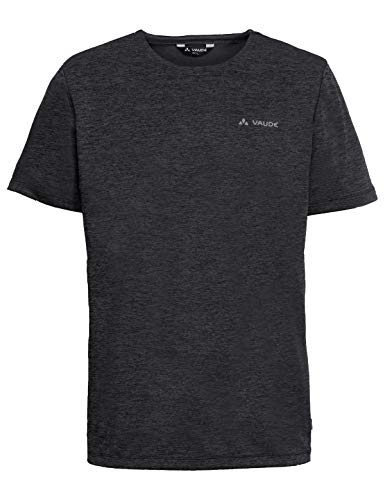 VAUDE Herren T-shirt Men\'s Essential T-Shirt, Wandershirt, phantom black, 48, 413266785200