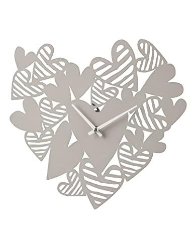 orologio da parete tortora Brandani 54251