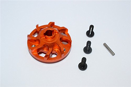 Traxxas Craniac Upgrade Pièces Aluminium Spur Gear Adapter (for Original Spur Gear) - 1Pc Set Orange