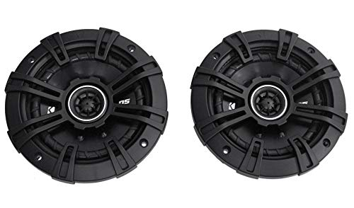 "2 Kicker 43DSC504 D-Series 5.25"" 200W 2-Way 4-Ohm Car Audio Coaxial Speakers"