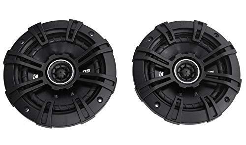 2 Kicker 43DSC504 D-Series 5.25' 200W 2-Way 4-Ohm Car Audio Coaxial Speakers