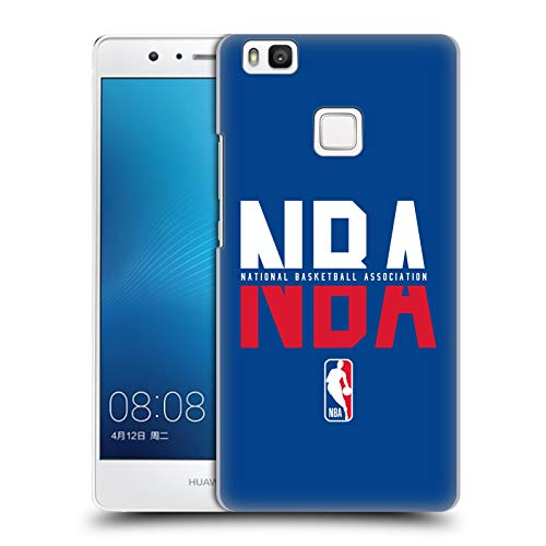 Head Case Designs Oficial NBA Tipografía 2019/20 Logoman Carcasa rígida Compatible con Huawei P9 Lite / G9 Lite
