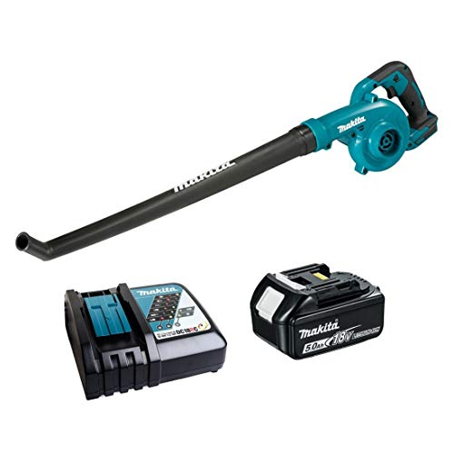 Makita DUB186RT 18V Li-ion LXT Blower Complete with 1 x 5.0 Ah Battery and Charger