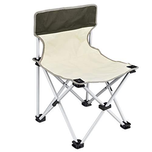 Chaises Pliante De Plage Pliante Portable De Pêche en Plein Air De Camping De Jardin Cadeau (Color : Brown, Size : 62 * 43 * 43cm)