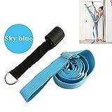 Warmiehomy Adjustable Leg Strap Stretcher Band Tensile Yoga Belt on the Door, Flexible Trainer Installed on Door, Stretching Equipment for Indoor Ballet, Dance, Gymnastics, Taekwondo