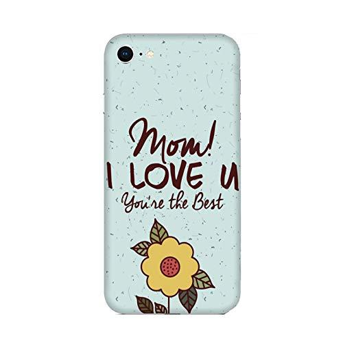 Funda iPhone 6 plus Carcasa Apple iPhone 6 plus Día de la madre eres el mejor / Cubierta Imprimir también en los lados / Cover Antideslizante Antideslizante Antiarañazos Resistente a golpes Protect