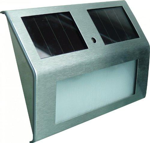 Powerplus Goldfinch – lampe solaire de mur multifonction -