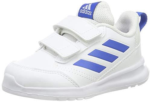 Adidas Altarun CF I, Zapatillas de Gimnasia Unisex bebé, Blanco (FTWR White/Blue/FTWR White FTWR White/Blue/FTWR White), 25 EU