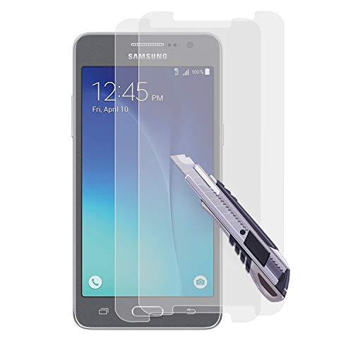 Ylife Panzerglas Kompatibel Samsung Galaxy Grand Prime Plus 2 Stück 9H Härte Schutzfolie Anti-Kratzer/Blasenfrei/Fingerabdruck Displayschutzfolie für Samsung Galaxy Grand Prime Plus Panzerglasfolie