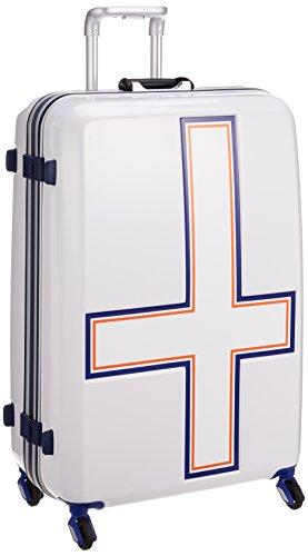 [イノベーター] スーツケース 大型 カードキー 消音キャスター INV68T 保証付 90L 76 cm 4.8kg ホワイトトリコ