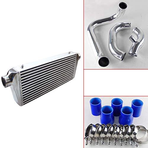 Fmic Upgrade Bolt On Front Mount Intercooler Kit fits for Audi A4 1.8T B5 98-01 Blue