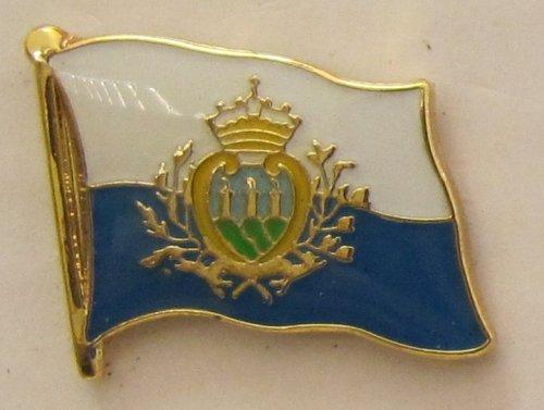 Pin Anstecker Flagge Fahne San Marino Flaggenpin Badge Button Flaggen Clip Anstecknadel