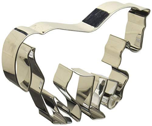 Birkmann 1010699210 Ausstechform Pferd in Piaffe, 11 cm, Kunststoff, Grau, 5 x 3 x 2 cm