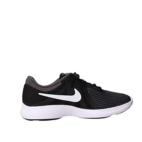 Nike Unisex-Kinder Laufschuh Revolution 4, Schwarz - 5