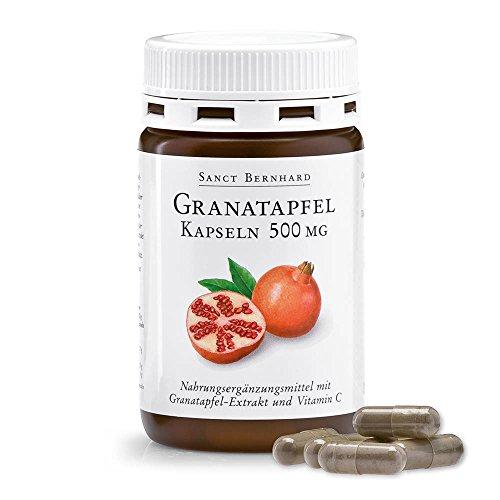 Granatapfel-Kapseln mit Ellagsäure, Vitamin C 90 Kapseln