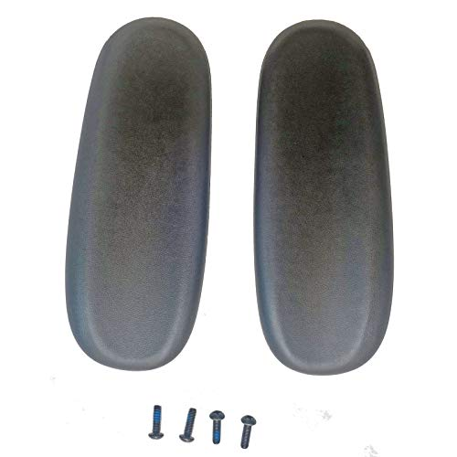 2X Universal Office Desk Computer Chair Replacement Part Arm Pads Armrest 4' and 5.5' Mounting Hole, Vinyl