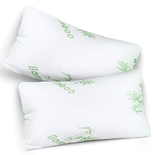 Lions Bamboo Pillows Memory Foam Orthopaedic Neck Support (Pack of 2)