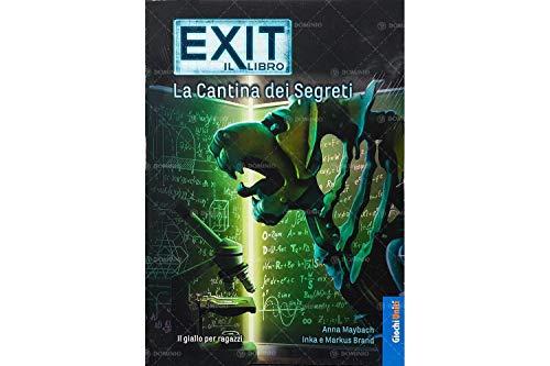 Exit: La cantina dei segreti - Escape Room da tavolo | Giochi Uniti