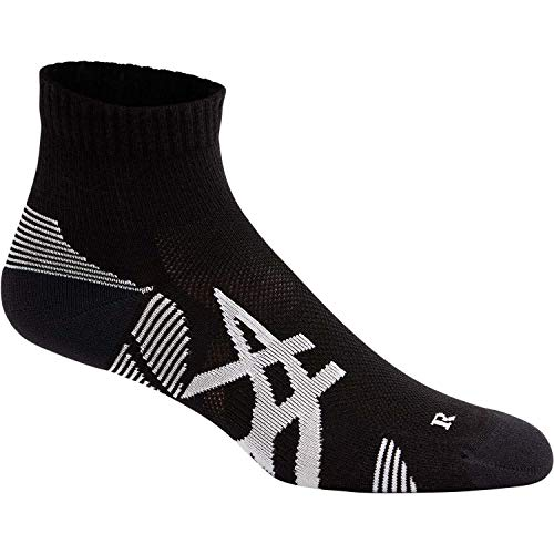 ASICS Unisex Cushioning Socken, Performance Black, Large