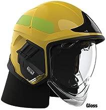 Cairns XF1 Fire Helmet, Yellow - Yellow, Glossy, Medium