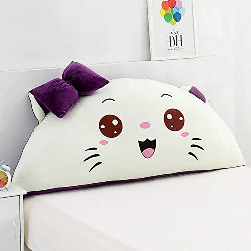 LOVE-CUSHION Cartoon Weiche Tasche Kissen,Kristall Samt Kissen Niedlichen Sofa Tatami Kissen,Für Chinesische Betten,EuropäIsche Betten,Amerikanische Betten,Erkerfenster B-120 * 60cm