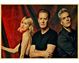 HUYUEXIN Canvas Poster Tv Series Twin Peaks Poster Vintage
