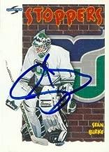 Autograph Warehouse 66910 Sean Burke Autographed Hockey Card Hartford Whalers 1995 Score No. 320