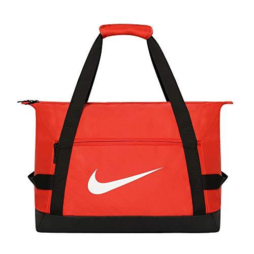 Nike Unisex Starre Tasche Großen Fußball Academy Fußballtasche, Rosso_Nero_Bianco, Einheitsgröße