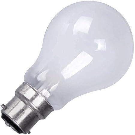 150w Watt BC B22 Bayonet Cap Push In Pearl Incandescent Light Bulb Lamp x 5