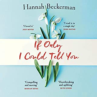 If Only I Could Tell You                   By:                                                                                                                                 Hannah Beckerman                               Narrated by:                                                                                                                                 Nicky Diss                      Length: 9 hrs and 37 mins     29 ratings     Overall 3.9