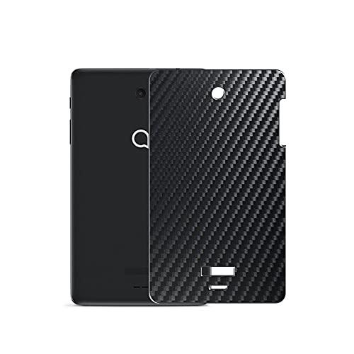 VacFun 2 Piezas Protector de pantalla Posterior, compatible con Alcatel JOY TAB 8', Película de Trasera de Fibra de carbono negra Skin Piel