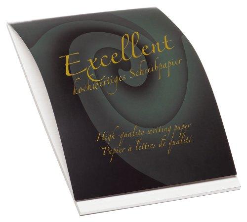 Rössler 20201711 - Excellent - Briefblock A4, 80 Gramm, 50 Blatt, weiß