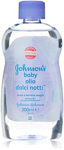 Johnson's - Olio Baby Dolci Notti, con Aroma Natural Calm - 300 ml