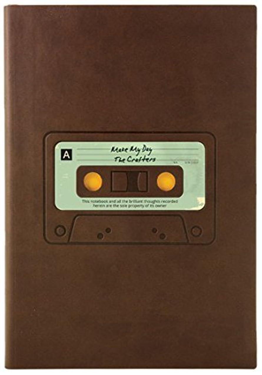 ダイゴー ノート Retro Sketchbook Tape/Brown N75432 【まとめ買い2冊セット】