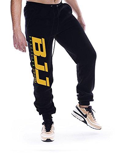 Dirty Ray Arti Marziali MMA Jiu-Jitsu Pantaloni della Tuta Uomo con Fondo Elasticizzato SDBJJ1S (L)