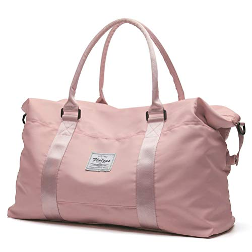 Pink Travel Duffel Bag (57% Off)