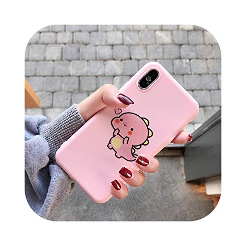 for Huawei P8 P9 P10 P20 Lite Plus P30 P40 Prop Smart 2019 Z Cute Love Heart Case for Huawei Mate 10 20 Lite Pro Cover-Pink 6-for P20