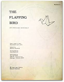 The Flapping Bird: An Origami Monthly (Numbers 1 - 12)