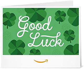 good luck card to print