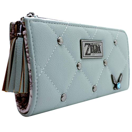 Cartera de Legend of Zelda Ocarina of Time Navi Hada Verde