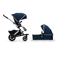 Premium stroller set that accommodates children from birth to 50 pounds Features a baby bassinet and convertible seat; also includes extra-large storage basket and all-terrain wheels Has the option to expand to a double stroller to accommodate a seco...
