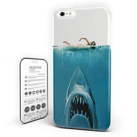 Phone Cover Dangerous Shark Underwater Jaws Ultra Slim Protective Hard Plastic Case Image