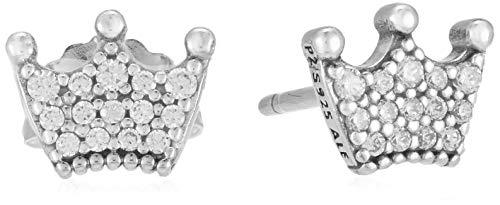 Pandora Pendientes de botón Mujer plata - 297127CZ