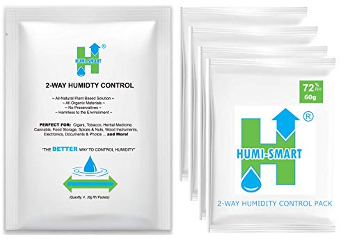 Humi-Smart 2-Way Control 72% RH 60g 4-Pack