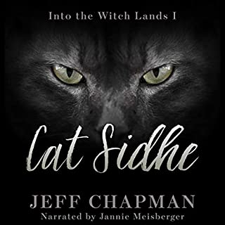 Cat Sidhe audiobook cover art